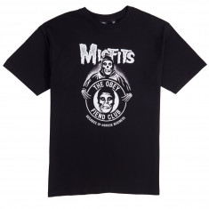 Obey X Misfits Decades Of Horror Business T-Shirt - Black