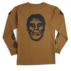 Obey X Misfits Fiend Club Long Sleeve T-Shirt - Tapenade
