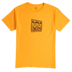 Obey Pro And Obedience T-Shirt - Gold