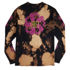 Obey Call To Arms Long Sleeve T-Shirt - Black