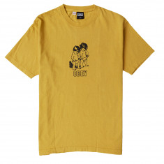 Obey Curious Kiddos T-Shirt - Dijon
