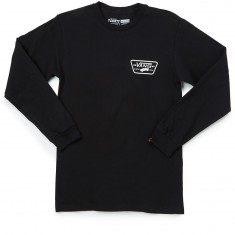 Vans Full Patch Back Long Sleeve T-Shirt - Black