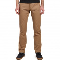 Volcom Fricken Slim Chino Pants - Beige