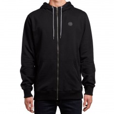 Volcom Single Stone Zip Hoodie - Black/Black