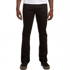 Volcom Vorta Jeans - Black on Black