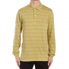 Volcom Casper Polo Long Sleeve Shirt - Poison Green