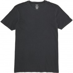 Volcom Pale Wash Solid T-Shirt - Black