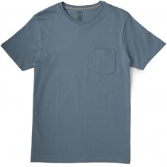Volcom Solid Pocket T-Shirt - Ash Blue