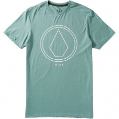 Volcom Pin Line Stone T-Shirt - Sea Blue