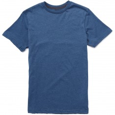 Volcom Heather Solid T-Shirt - Smokey Blue