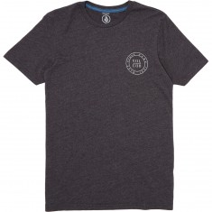 Volcom Power and Light T-Shirt - Heather Black
