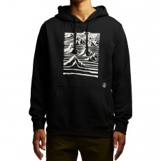 Volcom Team Art Fleece Hoodie - Black