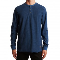 Volcom Moxie Long Sleeve Shirt - Smokey Blue