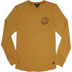 Volcom Freestate Crew Long Sleeve Shirt - Caramel