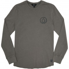 Volcom Freestate Crew Long Sleeve Shirt - Pewter