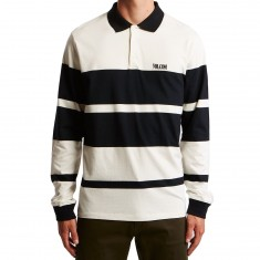 Volcom Tanner Polo Long Sleeve Shirt - Cloud