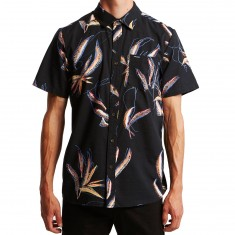 Volcom Motel Floral Shirt - Black