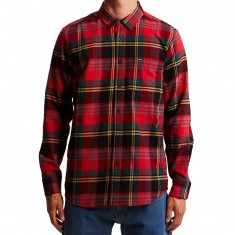 Volcom Caden Long Sleeve Shirt - True Red