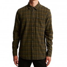 Volcom Brodus Long Sleeve Shirt - Military