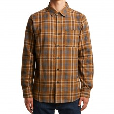 Volcom Marcos Long Sleeve Shirt - Mud