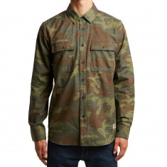 Volcom Woodland Long Sleeve Shirt - Camouflage