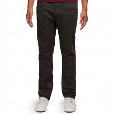 Volcom Vorta 5 Pocket Slub Pants - Stealth
