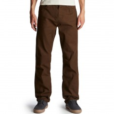 Volcom Kinkade 5 Pocket Thifter Jeans - Dark Chocolate