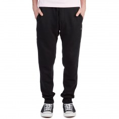 Volcom Single Stone Fleece Sweat Pants - Black