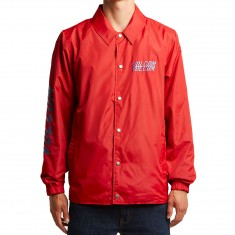 Volcom Brews Coach Jacket - True Red