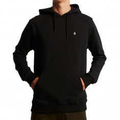 Volcom Single Stone Basic Pullover Hoodie - Black