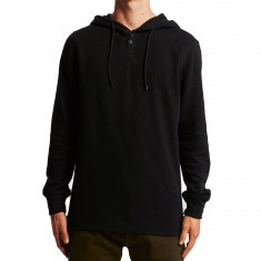 Volcom Murphy Thermal Long Sleeve Shirt - Black