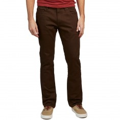 Volcom Vorta 5 Pocket Slub Pants - Dark Chocolate