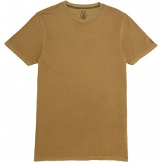Volcom Pale Wash Solid T-Shirt - Burnt Khaki
