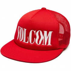 Volcom Swiss Cheese Hat - True Red