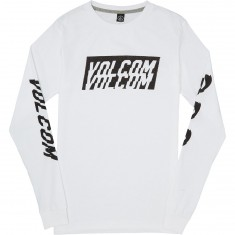 Volcom Chopper Long Sleeve T-Shirt - White