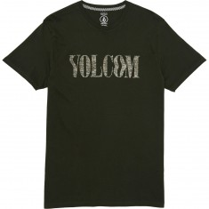 Volcom Weave T-Shirt - Dark Green