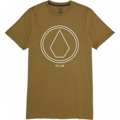 Volcom Pin Line Stone T-Shirt - Light Army