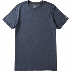 Volcom Heather Solid T-Shirt - Indigo