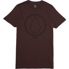 Volcom Pin Line Stone T-Shirt - Plum Heather