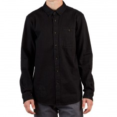 Volcom Crowley Longsleeve Shirt - Black