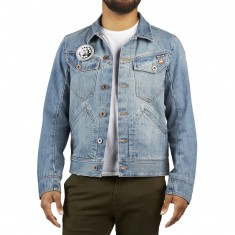 Volcom X Burger Jacket - Wrecked Indigo