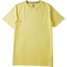 Volcom Pale Wash Solid T-Shirt - Light Yellow