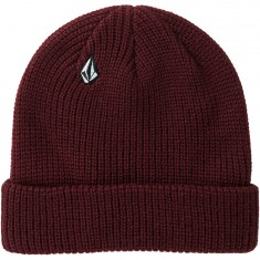 Volcom Full Stone Beanie - Dark Port
