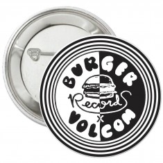 Volcom X Burger Pin - Black