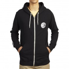 Volcom X Burger Records Zip Hoodie - Black