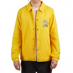 Volcom Brews Coach Jacket - True Yellow
