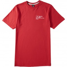Volcom Bender T-Shirt - True Red
