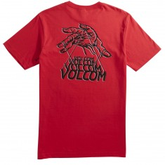 Volcom Puppet T-Shirt - True Red