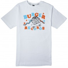 Volcom X Burger Records Wiggle T-Shirt - White