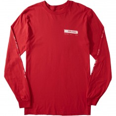 Volcom Distort Longsleeve T-Shirt - True Red